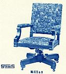 Stow Davis Floral Office Chair