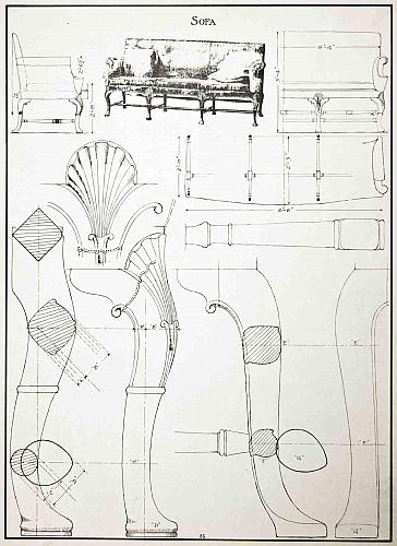 Furniture Detail Drawing