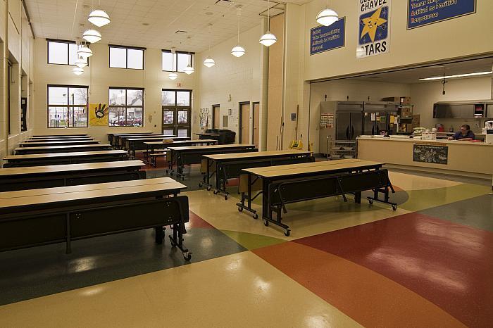 Cesar E Chavez Elementary School Cafeteria Furniture