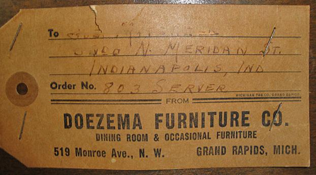Doezema Furniture Co Furniture City History