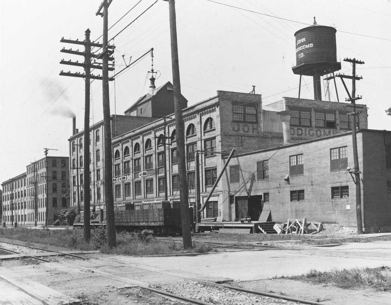 John Widdicomb Factory Looking North.