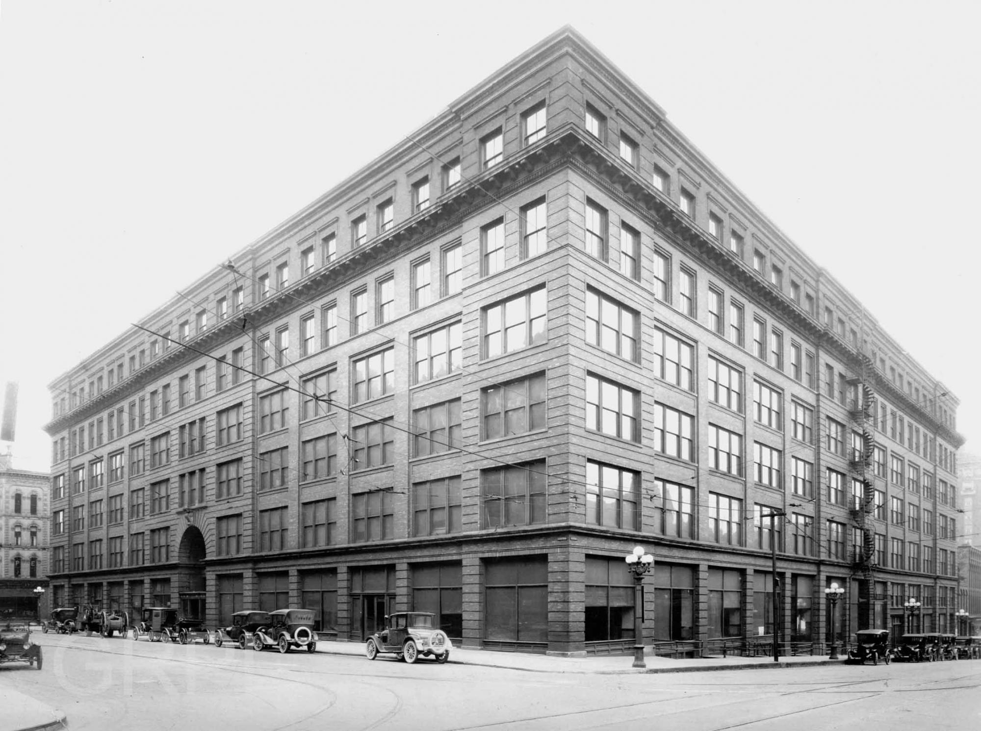 The Waters Building Furniture City History