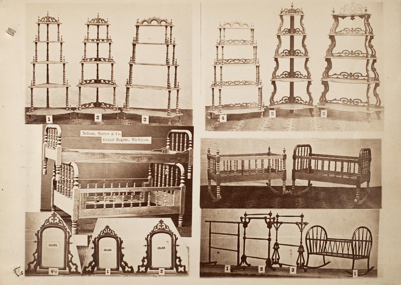 Nelson Matter Amp Co 1876 Trade Catalog Furniture City