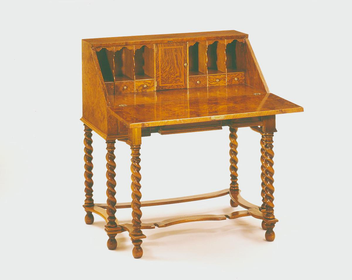 jacobean style desk furniture city history