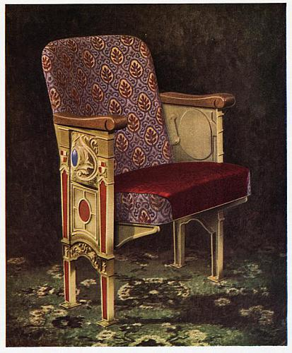 Irwin Seating Co. Catalog, Theater Seat