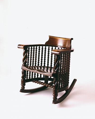 Spindled Rocking Chair