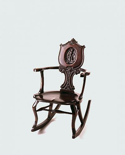 Mahogany Rocking Chair