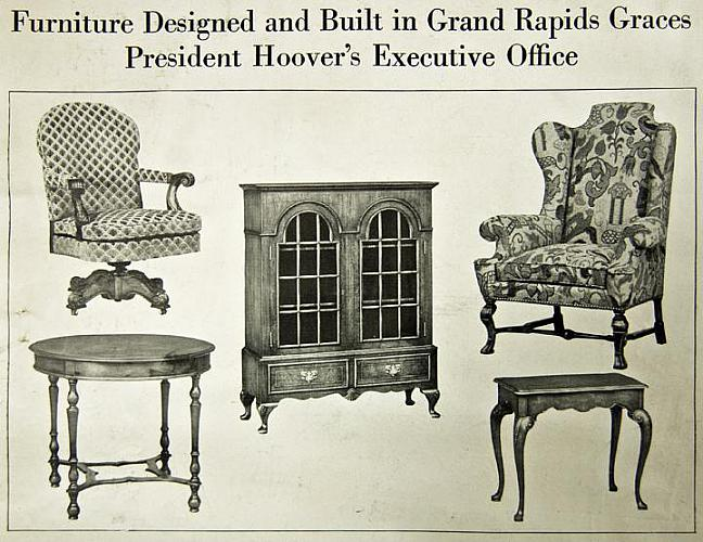 Furniture Designed for President Hoover