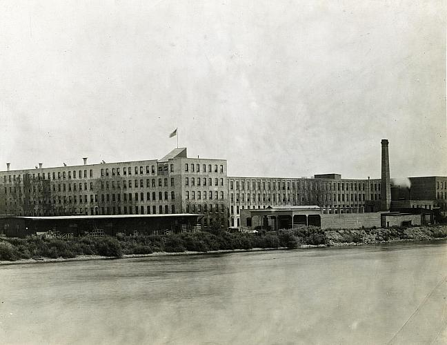 Grand Rapids Chair Factory on the Grand River