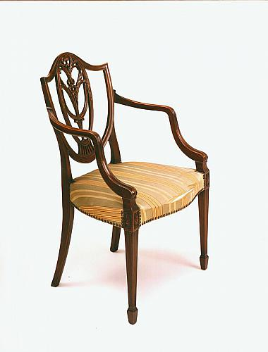Two Chairs, Johnson Furniture Co.