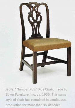 The U201c#789 Chippendaleu201d Ribbon Back Chair, Introduced During This Period,  Remained In Production For Decades.